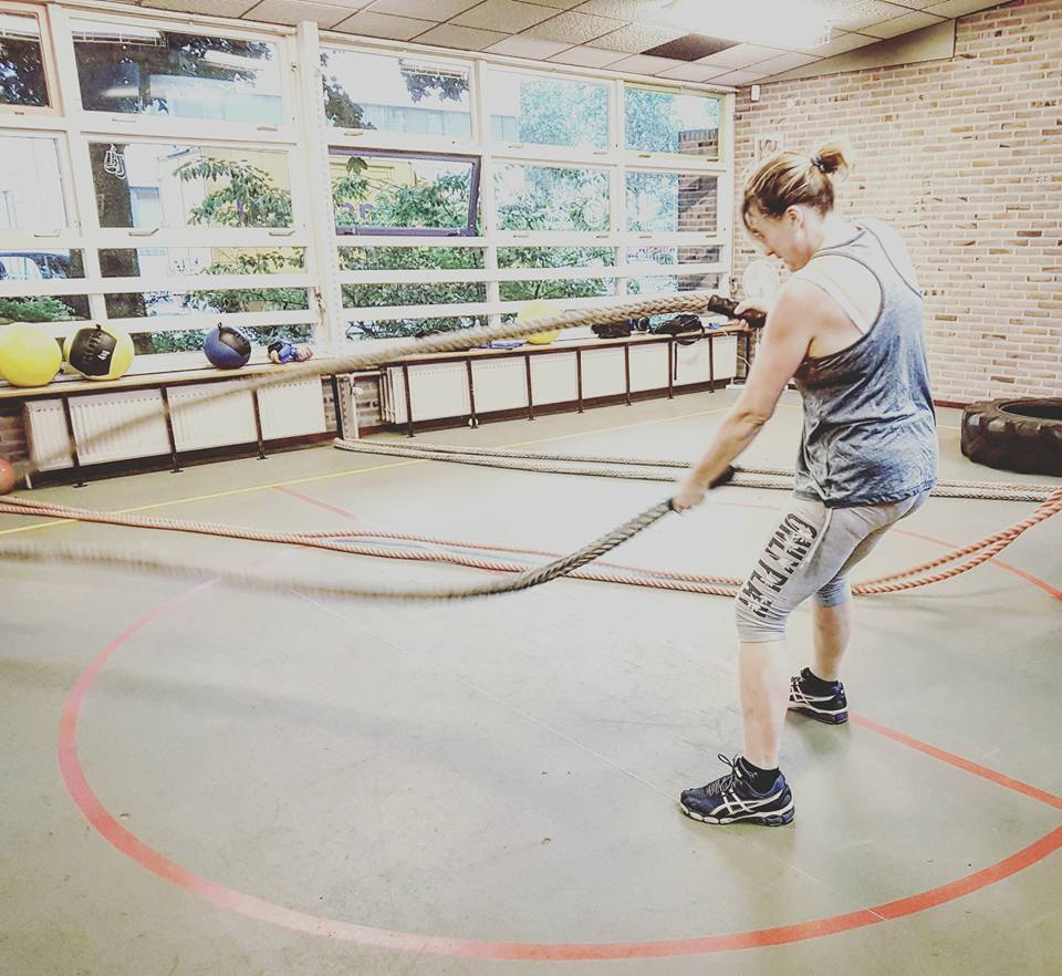 battlerope pop-up gym functional training