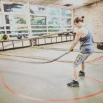 battlerope pop-up gym functional training